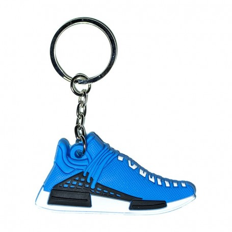 NMD Human Being Blue Silicone Keychain - LA SNEAKERIE