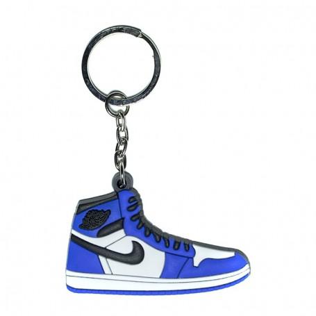 Air Jordan 1 Game Royal Silicone Keychain | La Sneakerie