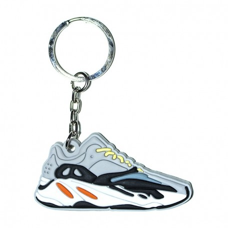 Yeezy Boost 700 Wave Runner Solid Grey Silicone Keychain | La Sneakerie