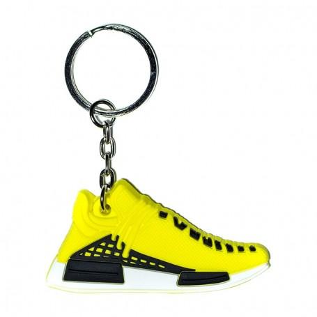 NMD Human Race Yellow Silicone Keychain - LA SNEAKERIE