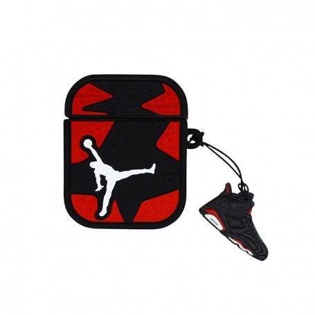Air Jordan 6 AirPods Case Red - LA SNEAKERIE