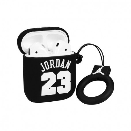 """Jordan 23"" AirPods Case Black - LA SNEAKERIE"
