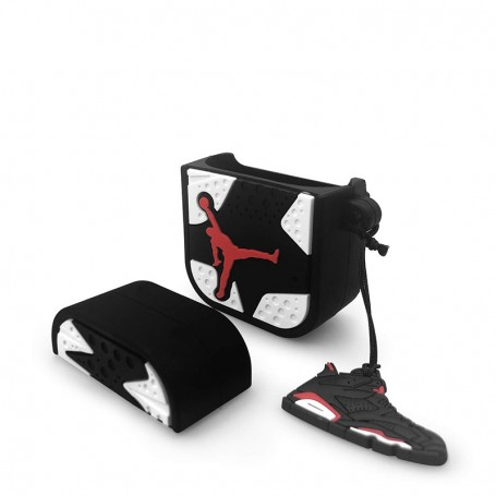Air Jordan 6 AirPods Case White - LA SNEAKERIE