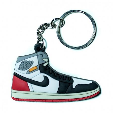 Porte-Clés Silicone Air Jordan 1 Union Los Angeles Black Toe | La Sneakerie
