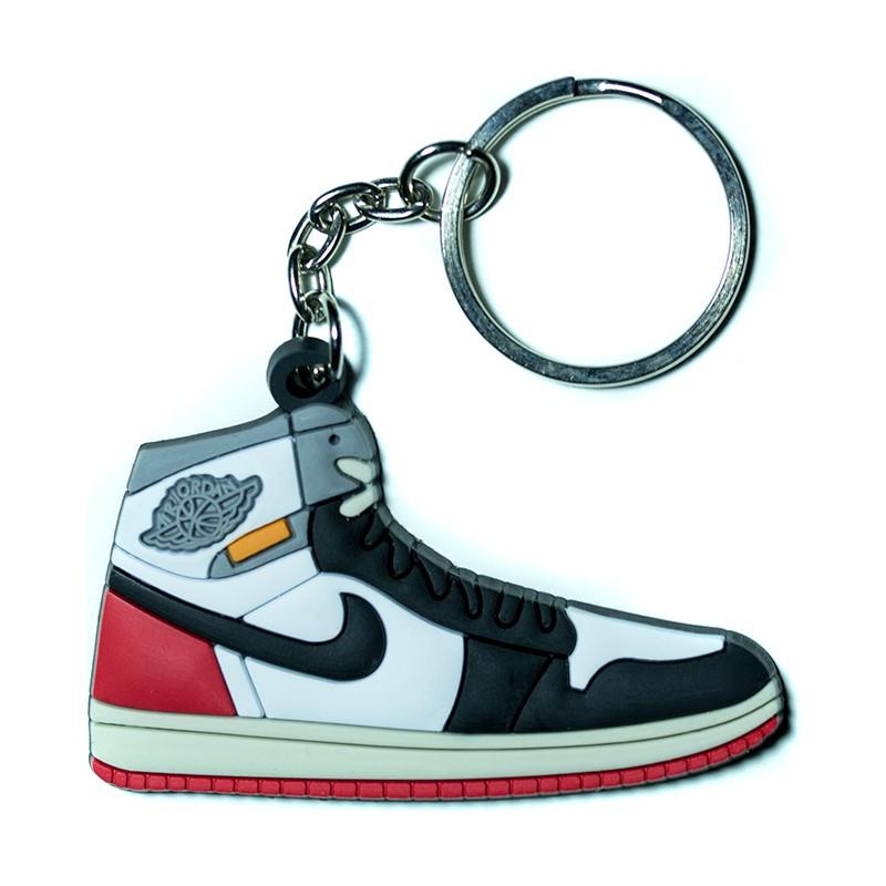 Air Jordan 1 Union Los Angeles Black Toe Silicone Keychain