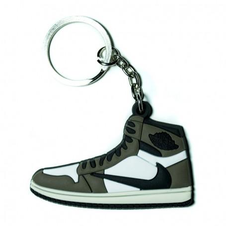 Porte-Clés Silicone Air Jordan 1 x Travis Scott - Cactus Jack | La Sneakerie