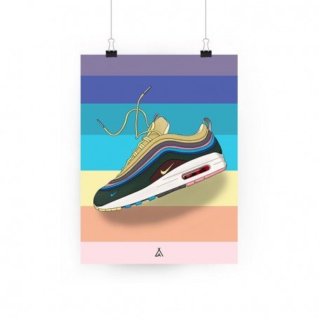 AM 1/97 Sean Wotherspoon Poster | La Sneakerie