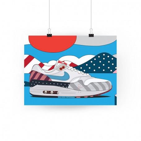 Poster Air Max 1 Parra | La Sneakerie