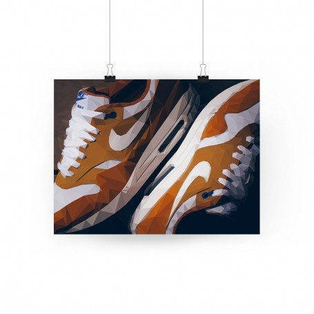 Air Max 1 Atmos Curry Poster - LA SNEAKERIE