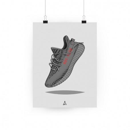 Poster Yeezy Boost 350 V2 Beluga | La Sneakerie