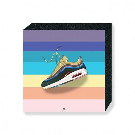 Wandbild Bloc Air Max 1/97 Sean Wotherspoon | La Sneakerie