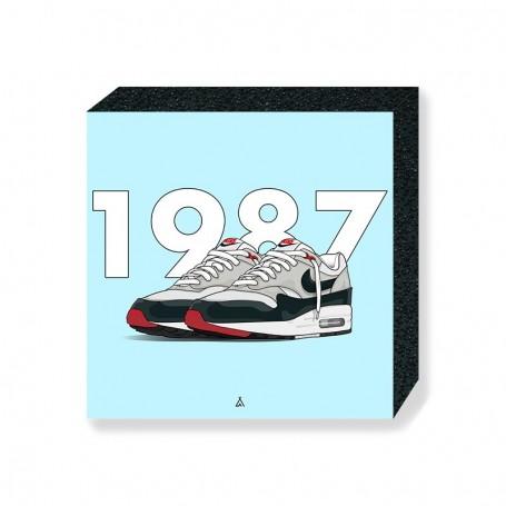 Bloc Mural Air Max 1 Obsidian | La Sneakerie