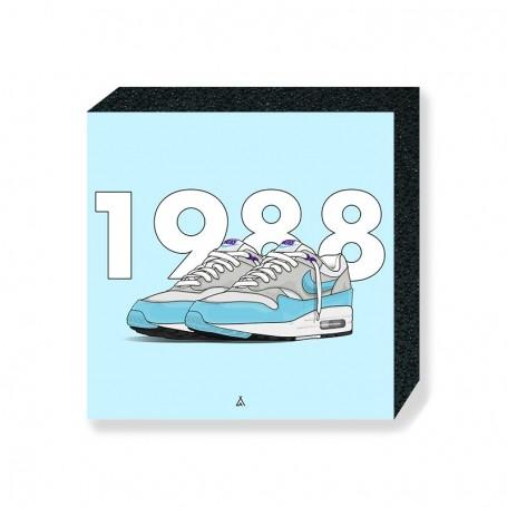 Bloc Mural Air Max 1 Aqua | La Sneakerie