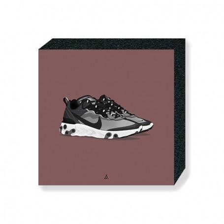 Bloc Mural React Element 87 Anthracite Black | La Sneakerie