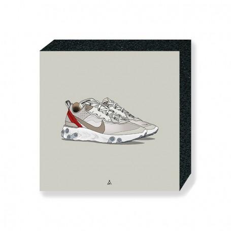 React Element 87 Sail Square Print | La Sneakerie