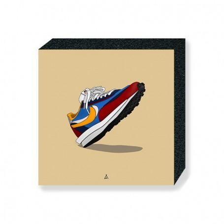 Bloc Mural Sacai LD Waffle Blue Multi | La Sneakerie