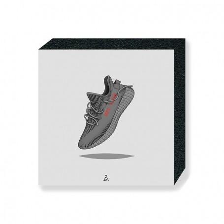 Wandbild Bloc Yeezy Boost 350 V2 Beluga | La Sneakerie