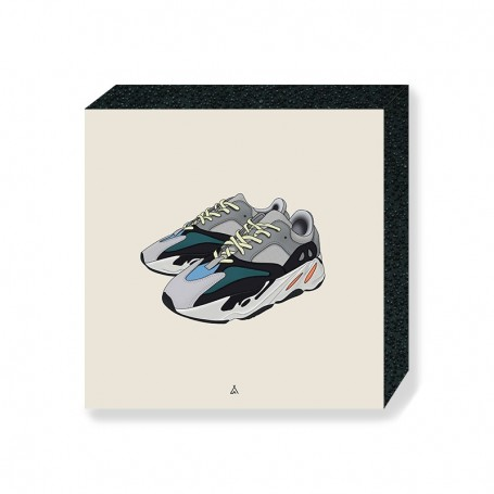 Yeezy Boost 700 Wave Runner Square Print | La Sneakerie