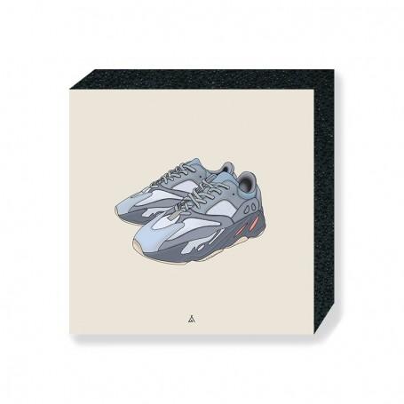 Yeezy Boost 700 Inertia Square Print   La Sneakerie