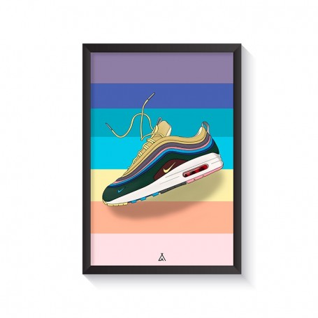 Cadre Air Max 1/97 Sean Wotherspoon | La Sneakerie