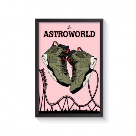 Rahmen Air Jordan 6 x Travis Scott | La Sneakerie