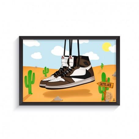 Rahmen Air Jordan 1 x Travis Scott | La Sneakerie