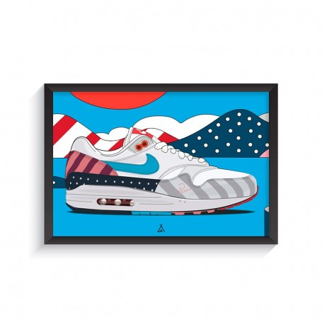 Cadre Air Max 1 Parra   La Sneakerie