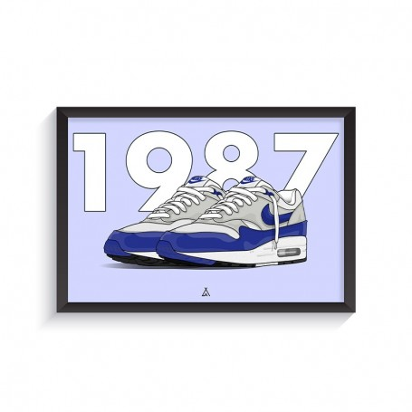 Air Max 1 OG Blue Frame | La Sneakerie