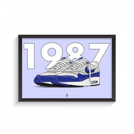 Cadre Air Max 1 OG Blue | La Sneakerie