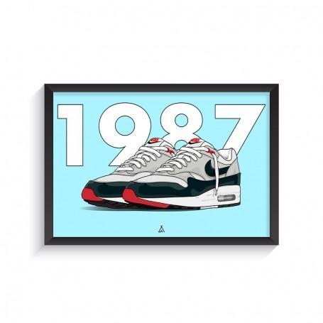 Air Max 1 Obsidian Frame | La Sneakerie