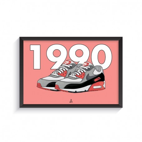 Cadre Air Max 90 Infrared | La Sneakerie