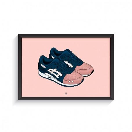 Cadre Gel-Lyte III Ronnie Fieg Salmon Toes | La Sneakerie
