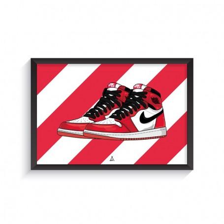Rahmen Air Jordan 1 Chicago | La Sneakerie