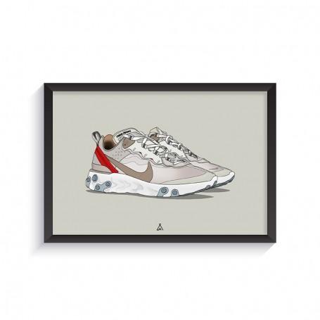 Cadre React Element 87 Sail | La Sneakerie