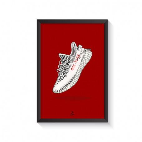 Cadre Yeezy Boost 350 V2 Zebra | La Sneakerie