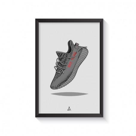 Rahmen Yeezy Boost 350 V2 Beluga   La Sneakerie