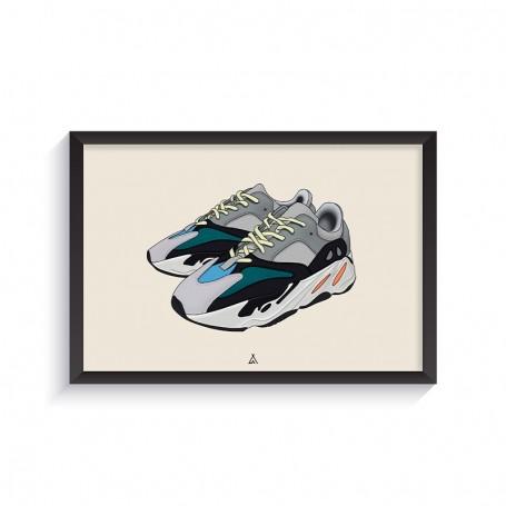 Cadre Yeezy Boost 700 Wave Runner | La Sneakerie