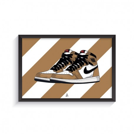 Cadre Air Jordan 1 Rookie Of The Year | La Sneakerie