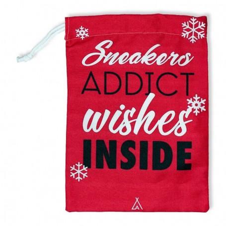 """Sac à cadeaux """"Sneakers addict wishes inside""""   La Sneakerie"""