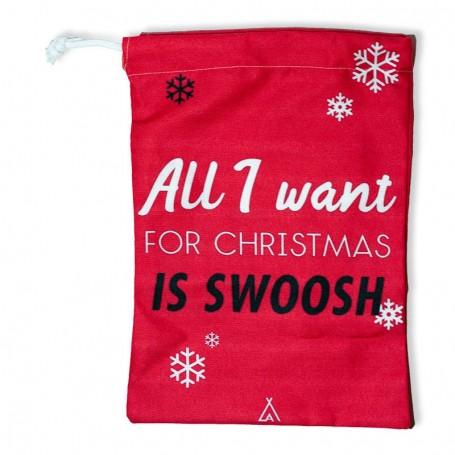 "Sac à cadeaux ""All I want for Christmas is swoosh"" | La Sneakerie"