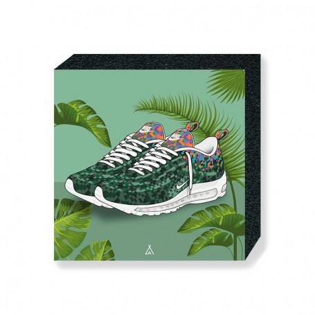 Bloc Mural Air Max 97 Rio | La Sneakerie