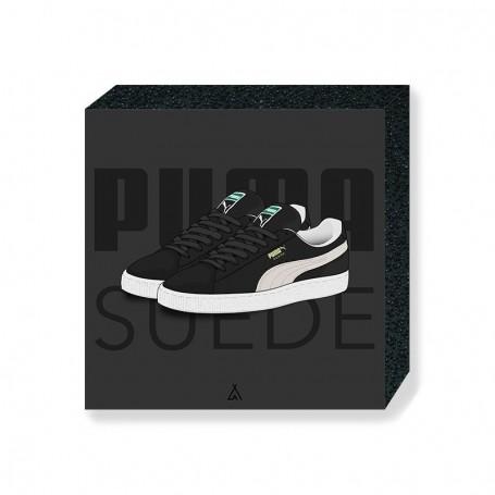 Wandbild Bloc Puma Suede | La Sneakerie