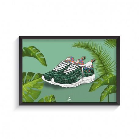 Rahmen Air Max 97 Rio | La Sneakerie