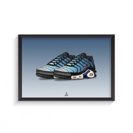 Rahmen Air Max Plus Hyper Blue | La Sneakerie