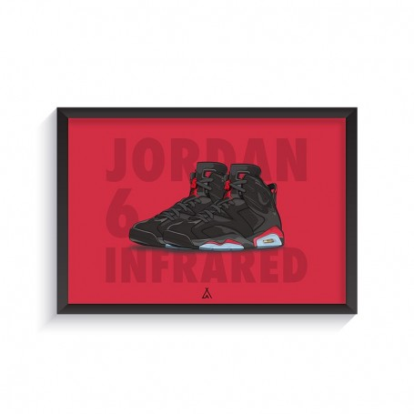 Air Jordan 6 Infrared Frame | La Sneakerie