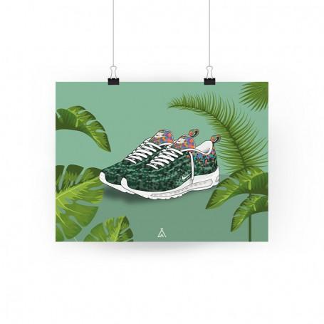 Poster Air Max 97 Rio | La Sneakerie