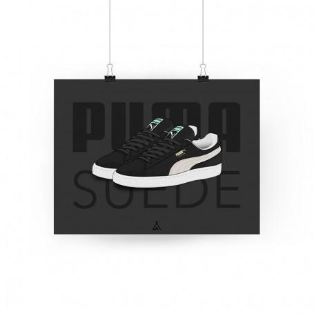 Poster Puma Suede | La Sneakerie