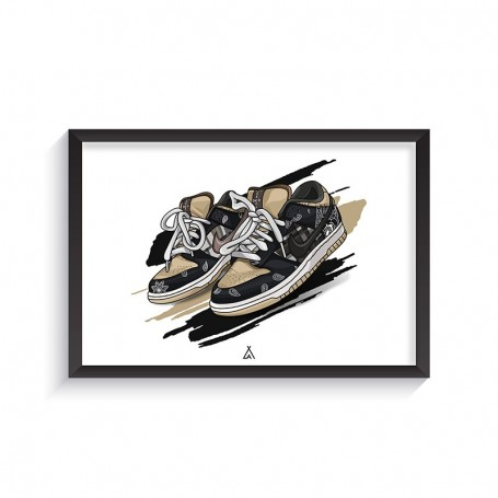 Rahmen SB Dunk Low Travis Scott | La Sneakerie