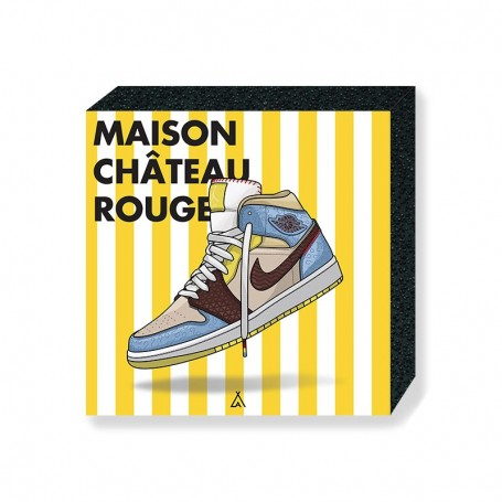 Bloc Mural Air Jordan 1 x Maison Château Rouge   La Sneakerie