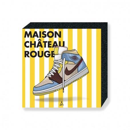 Air Jordan 1 x Maison Château Rouge Square Print | La Sneakerie